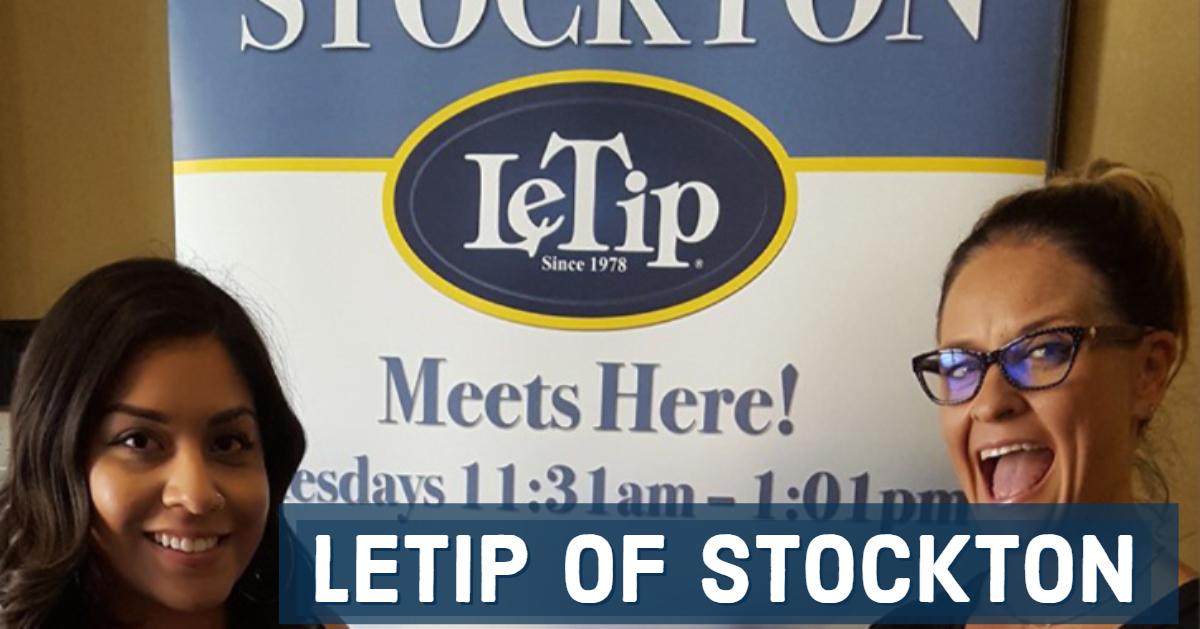 LeTip of Stockton, CA