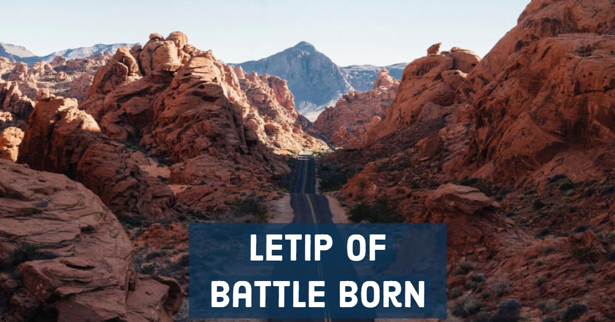 LeTip of Battle Born, NV