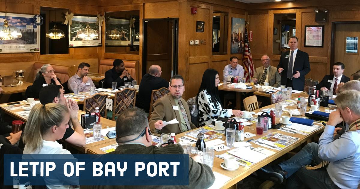 LeTip of Bay Port, NY