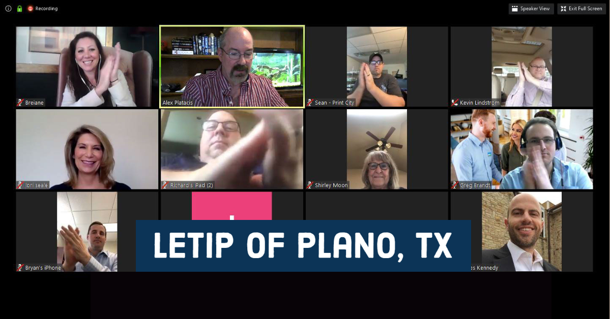 LeTip of Plano, TX