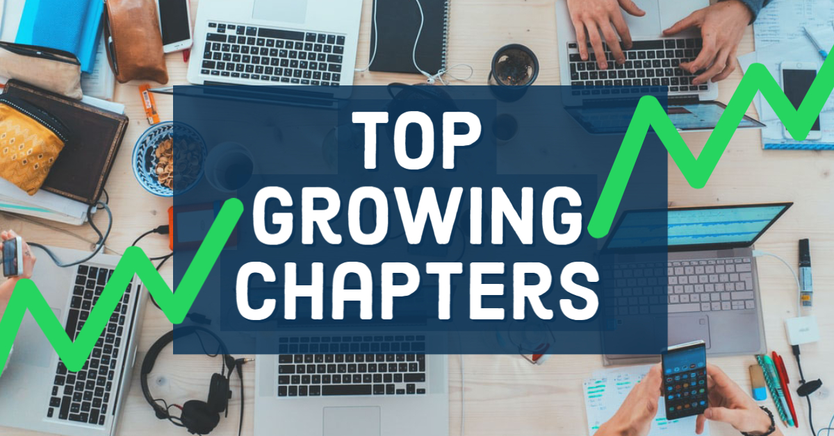 Top Growing Chapters in Q2 2020