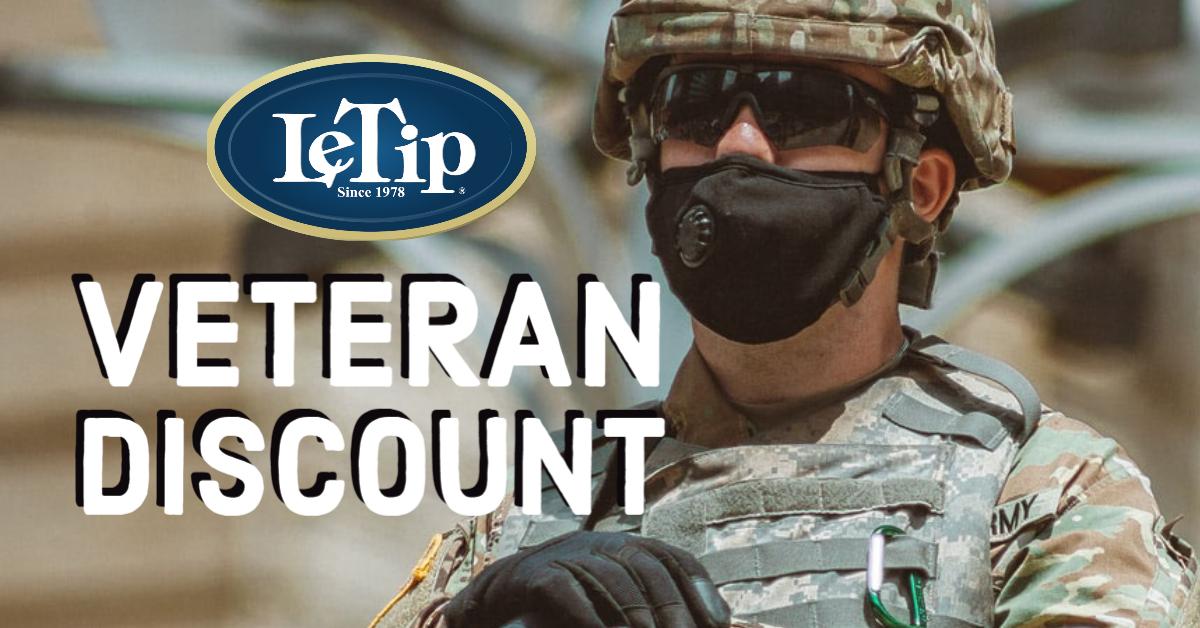 LeTip Veteran Discount