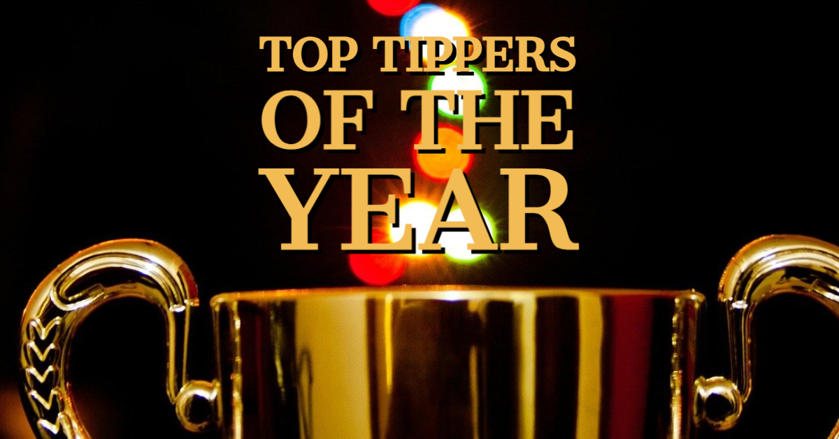 Top Tippers of the Year