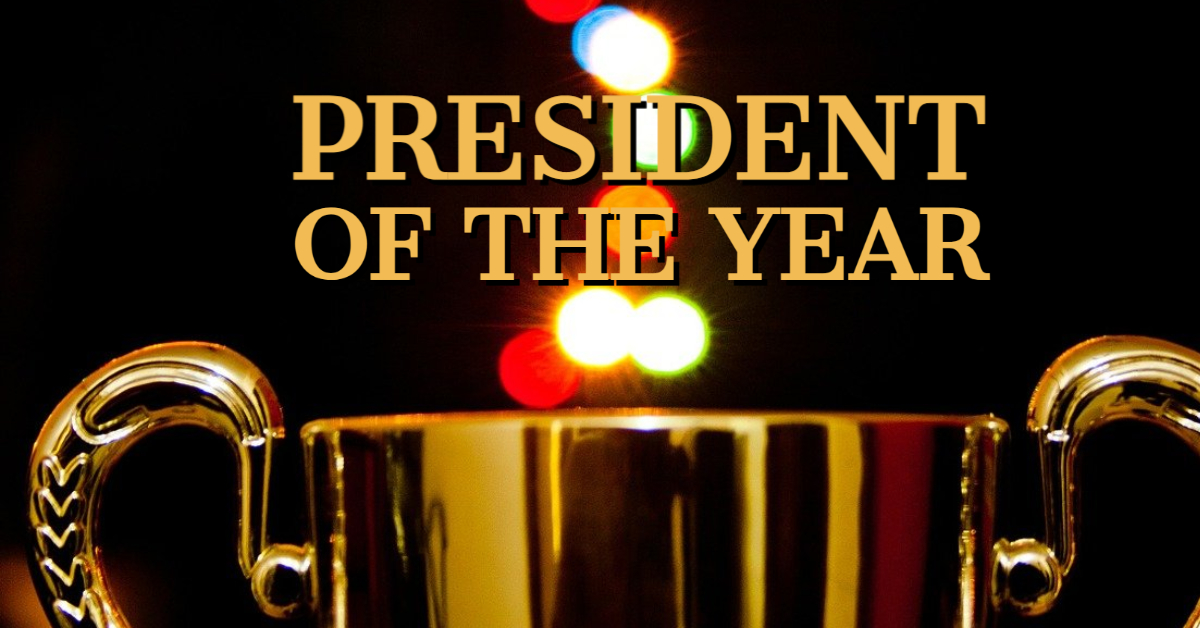 President of the Year – Gary Carruthers Sr.