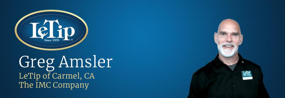 Member Spotlight: Greg Amsler