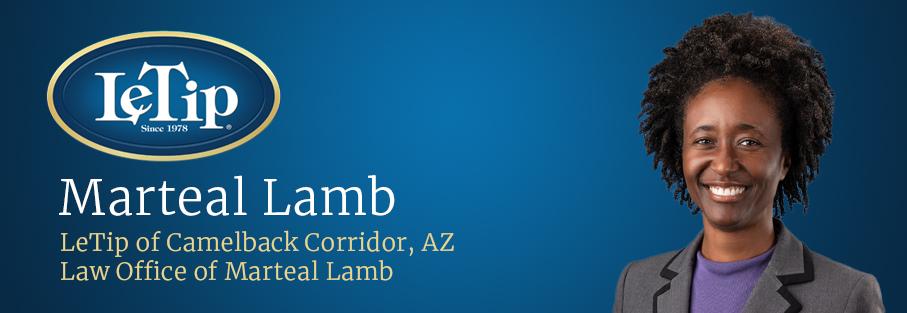 Member Spotlight: Marteal Lamb